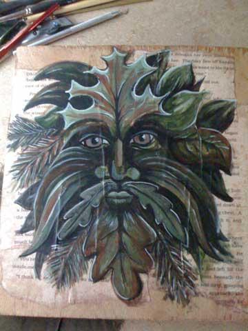 Rowan of the Wood: Green Man