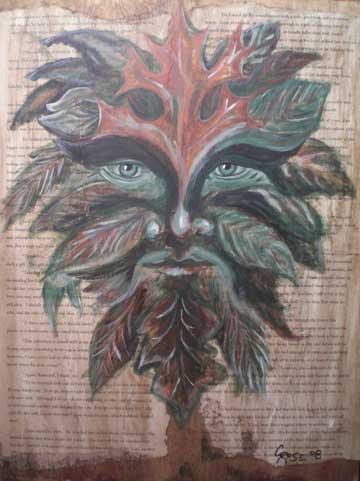 Rowan of the Wood: Green Man II