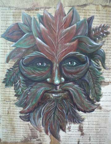 Rowan of the Wood: Green Man III