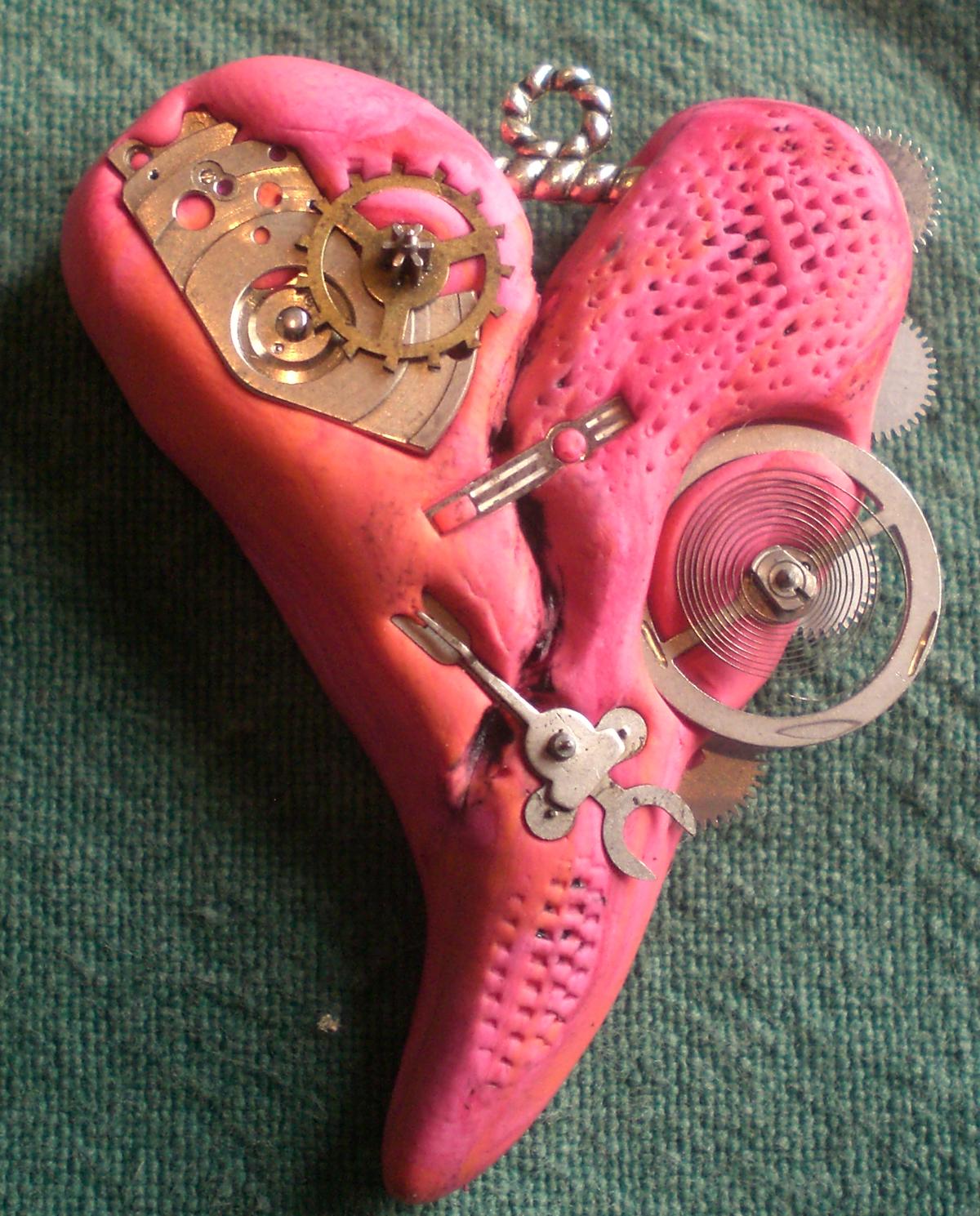 Steampunk Broken Heart
